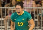Elaine Gomes joga na seleção brasileira de handebol - Cinara Piccolo/Photo&Grafia