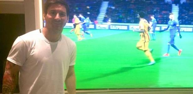 Messi pode trocar a Samsung pela Huawei