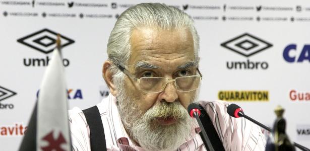 Eurico Miranda está de volta ao Vasco após cinco dias de licença