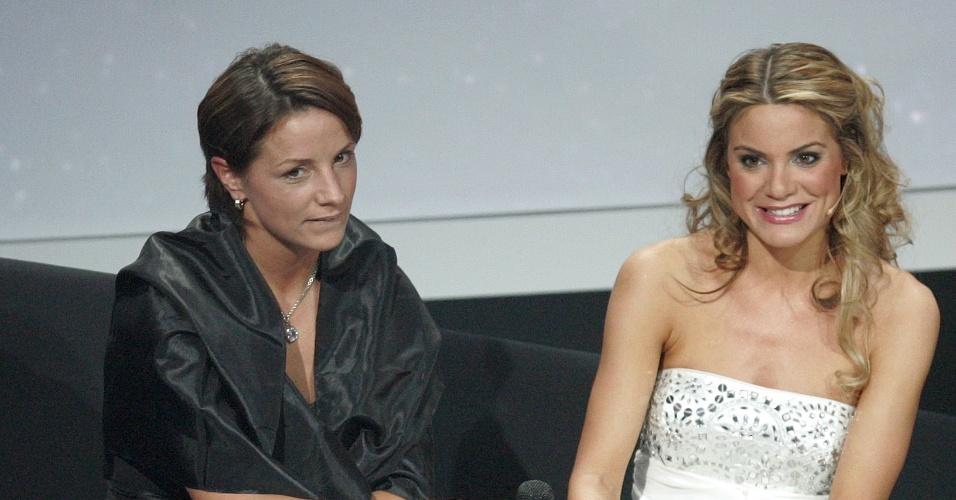 """A apresentadora Charlotte Jackson, que já foi chamada de """"nova Sara Carbonero"""", apresentou a premiação da Fifa em 2009. Ela trabalhava na Sky Sports"""