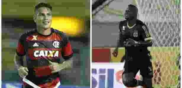 Guerrero e Riascos travarão um duelo à parte no Fla x Vasco deste domingo - Gilvan de Souza / Paulo Fernandes