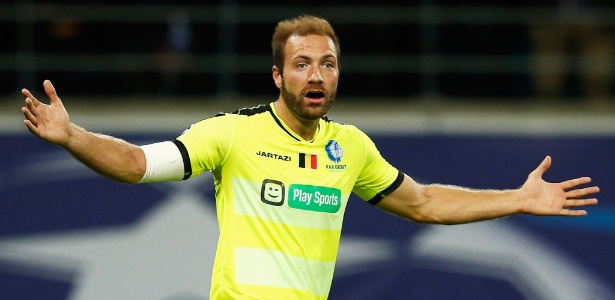 Laurent Depoitre, 27 anos, é o destaque do Gent