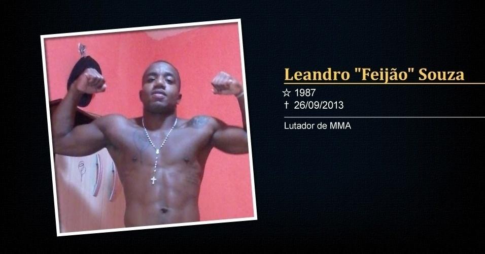Leandro Feijão morreu durante a perda de peso antes do Shooto, torneio de MMA