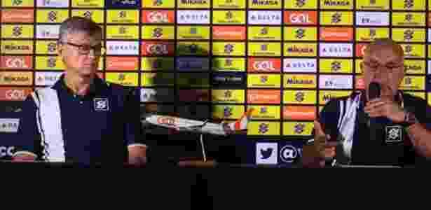 Renan é apresentado como novo técnico da seleção - Bruno Braz/UOL - Bruno Braz/UOL