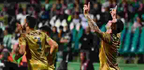 Mena abriu o placar para o Sport contra o Coritiba no Couto Pereira - Jason Silva/AGIF - Jason Silva/AGIF