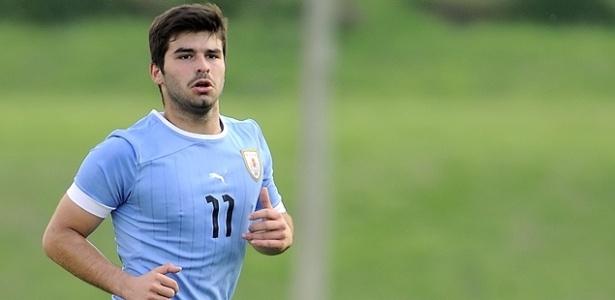 Latorre, atacante que defendeu a seleção uruguaia sub-17, está no Cruzeiro desde 2015