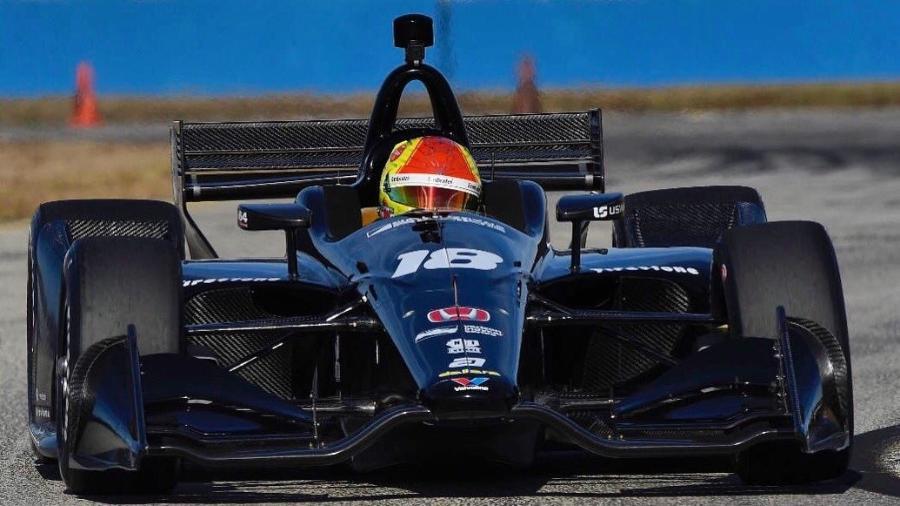 Neto de Emerson Fittipaldi correrá sete provas da temporada pela Dale Coyne - @PiFitti/Twitter