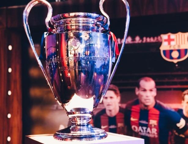 Troféu da Liga dos Campeões poderá ser visto por torcedores na capital pernambucana