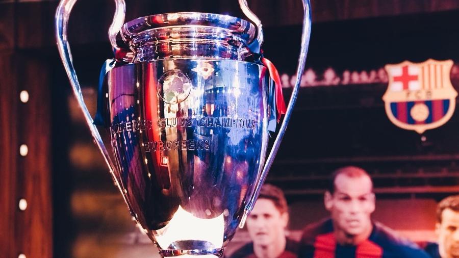 Troféu Uefa Champions League Liga dos Campeões - Divulgação