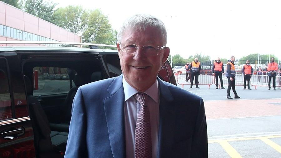 Alex Ferguson Manchester United Old Trafford - Reprodução/Twitter