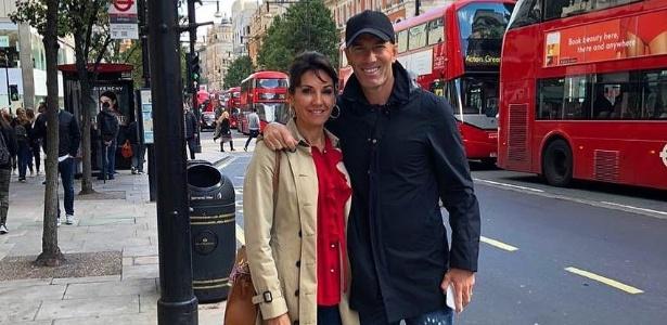 Zidane e sua esposa Verónique curtindo férias em Londres - Reprodução/Instagram