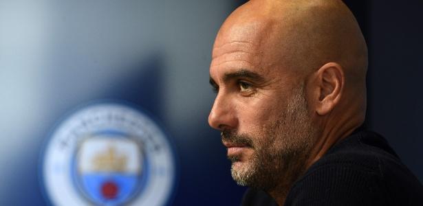 Pep Guardiola é o técnico do Manchester City