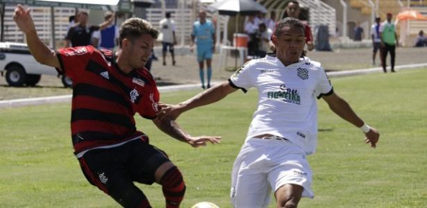 Flamengo e Figueirense fizeram jogo disputado pela Copinha