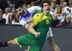 Brasil perde para a Espanha e é eliminado do Mundial masculino de handebol - Patrik STOLLARZ / AFP
