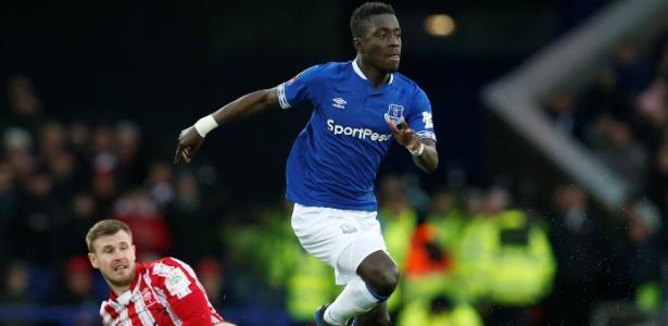 Idrissa Gueye tem 29 anos e já atuou em 95 partidas - Andrew Yates/REUTERS