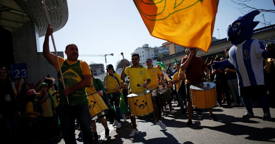 Brasileiros vão animados para amistoso contra o Panamá