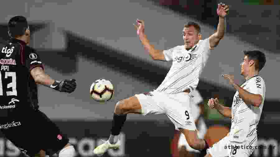 Jorge Wilstermann x Athletico na Copa Libertadores - Miguel Locatelli/Site Oficial