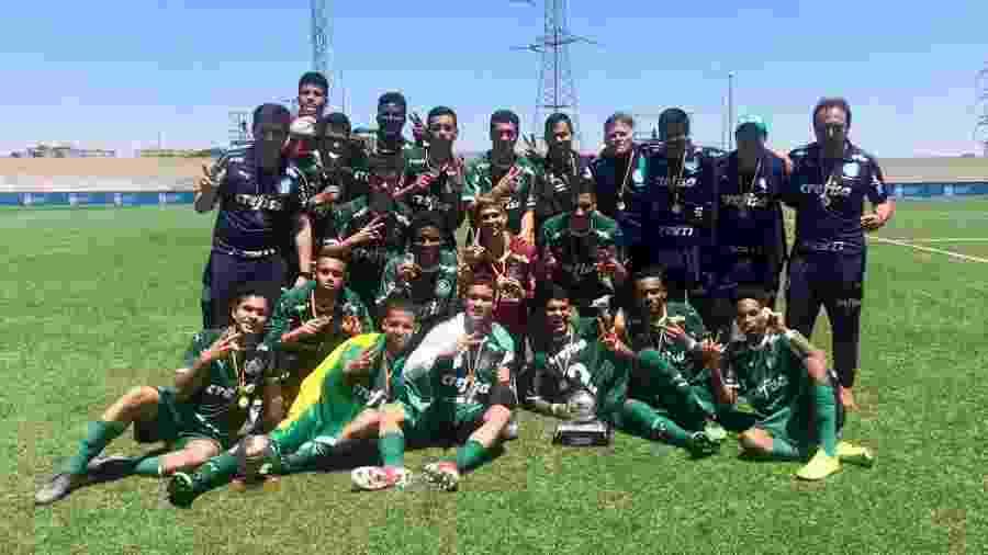 Palmeiras venceu o torneio realizado na Espanha - Divulgação/Palmeiras