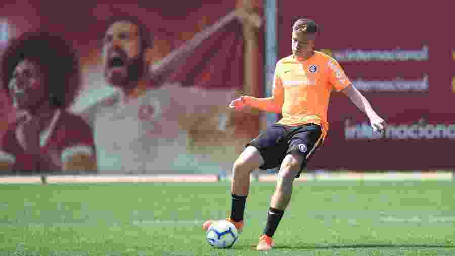 Bruno Fuchs ganhou oportunidade de seguir como titular do Internacional - Ricardo Duarte/Inter