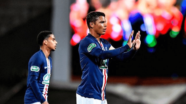 O zagueiro Thiago Silva, do PSG - Reprodução/Instagram - Reprodução/Instagram