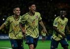 Carrascal conta que se inspirou em Ronaldinho Gaúcho em gol do Pré-Olímpico - Juan Barreto / AFP