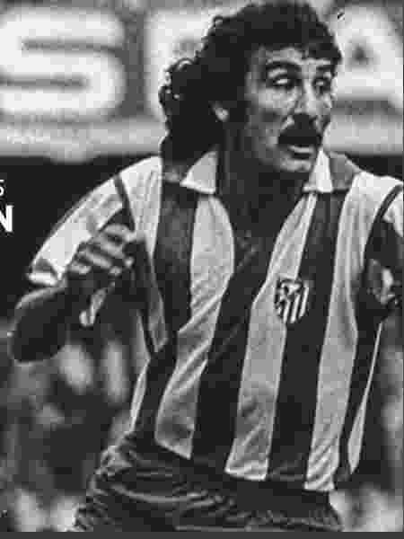 O ex-jogador do Atlético de Madrid José Luis Capón - Reprodução/Twitter