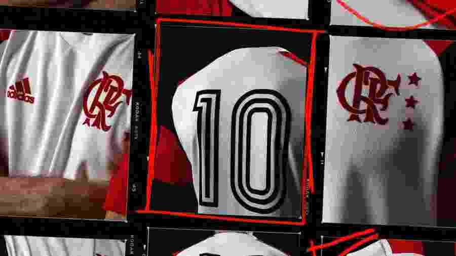 """A nova camisa do Flamengo se chama """"Icon"""" - Divulgação / Flamengo"""