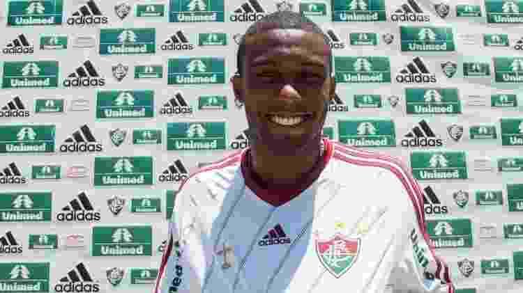 Rhayner (Fluminense) - Divulgação - Divulgação