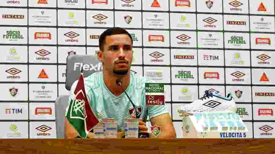 Martinelli renovou com o Fluminense até 2024 - Mailson Santana/Fluminense FC