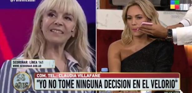 Ex-mulher e ex-namorada de Maradona brigam ao vivo em TV argentina