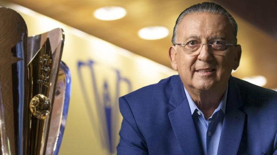 Galvão Bueno celebra volta à narração em Supercopa do Brasil - Reprodução/Twitter