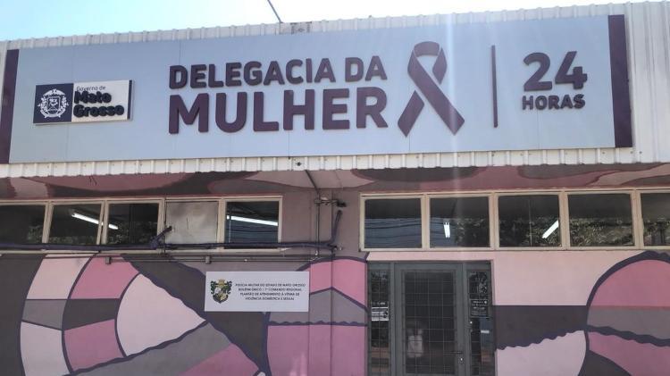 Segurança do Uruguai passou a noite detido na Delegacia da Mulher, em Cuiabá (MT) - Bruno Braz / UOL Esporte - Bruno Braz / UOL Esporte