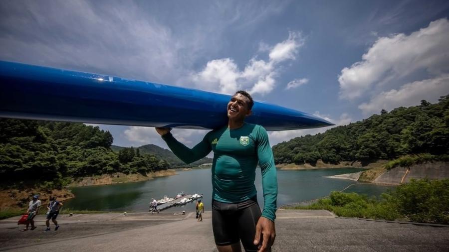 Dono de três medalhas olímpicas, Isaquias Queiroz estreia na Tóquio-2020 neste domingo (1º) - Divulgação