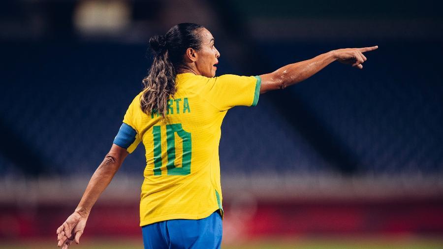 Marta disputa as Olimpíadas de Tóquio pela seleção brasileira - Sam Robles/CBF