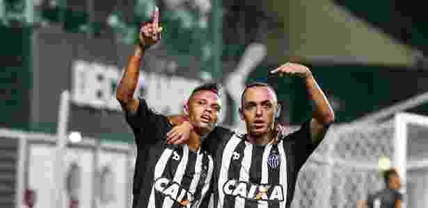 Hyuri e Dodô foram dois dos destaques do Atlético-MG na goleada sobre o Boa Esporte - Bruno Cantini/Clube Atlético Mineiro