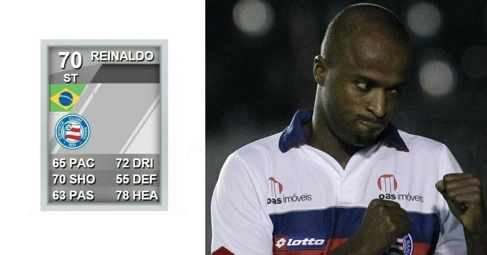 O jogador Reinaldo, ex-Flamengo, São Paulo e Bahia, pede R$ 180 mil a título de indenização