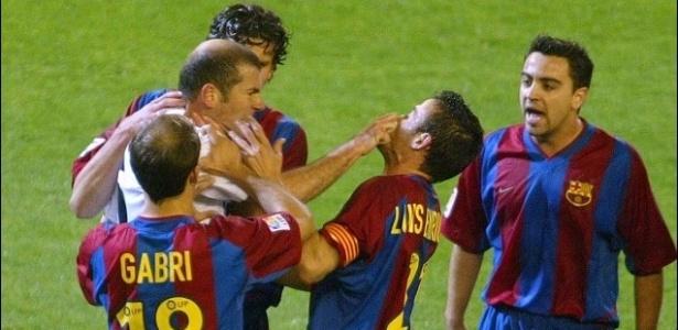 Francês se desentendeu com técnico do Barcelona nos tempos em que era jogador