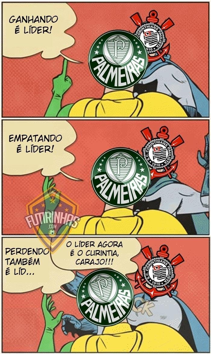 Corinthians deixa o Palmeiras para trás na tabela