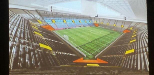 Estádio deve ser erguido em um terreno localizado na mesma região da Vila  - Divulgação