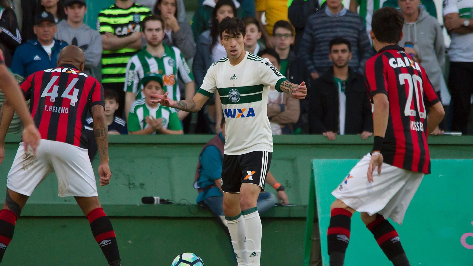 Coritiba e Atlético-PR se enfrentam pelo Campeonato Brasileiro 2017