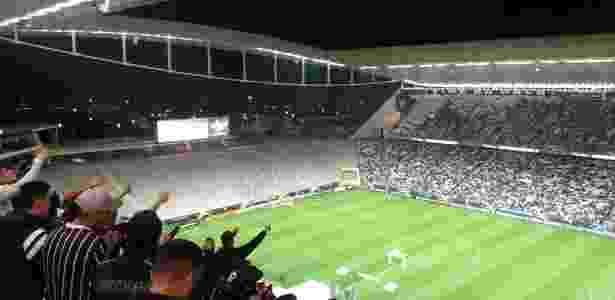 Setor norte Arena Corinthians vazio - Diego Salgado/UOL Esporte - Diego Salgado/UOL Esporte