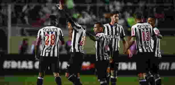 Yago comemora gol marcado para o Atlético-MG contra o Vasco - Thomás Santos/AGIF - Thomás Santos/AGIF
