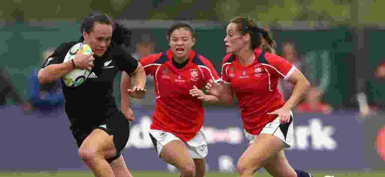 Portia Woodman contra Hong Kong - David Rogers/Getty Images