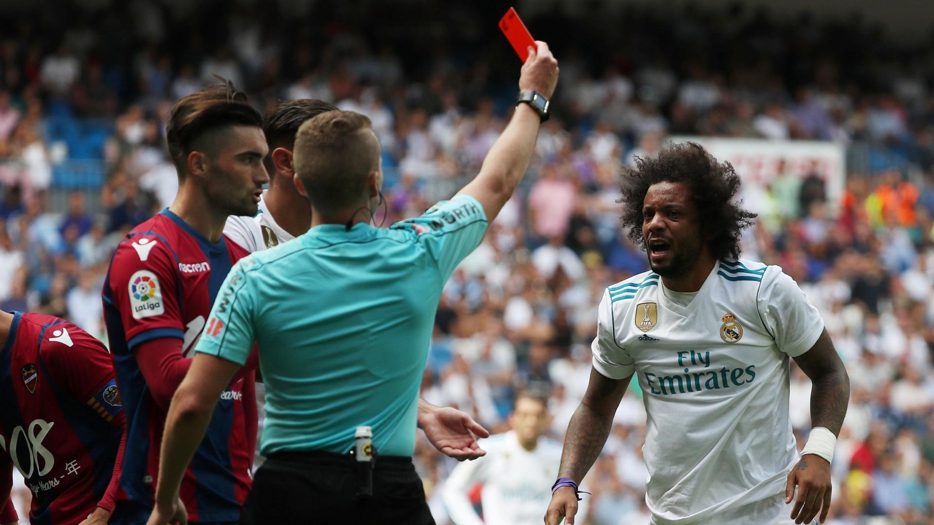Marcelo foi expulso contra o Levante