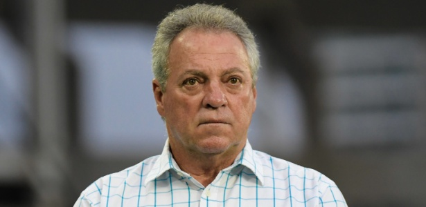 Técnico Abel Braga na partida entre Fluminense e Salgueiro, pela Copa do Brasil - Thiago Ribeiro/AGIF