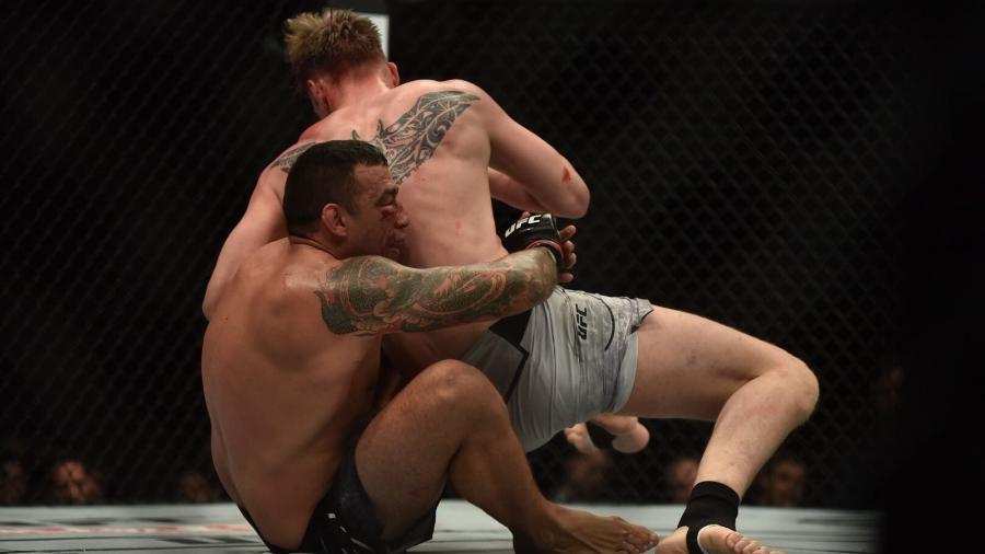 Alexander Volkov nocauteou Fabrício Werdum no 4º round - Erica Dezonne/ Ag. Fight