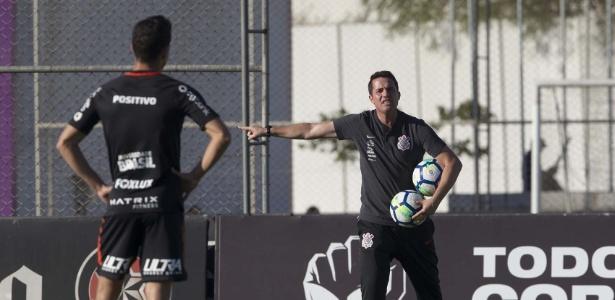 Osmar Loss terá pela frente seu primeiro clássico fora de casa como treinador corintiano - Daniel Augusto Jr. / Ag. Corinthians