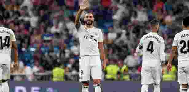 Benzema fez dois e assumiu artilharia do Espanhol - Rodrigo Jiménez/EFE
