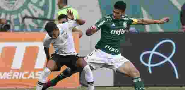 Luan foi capitão do Palmeiras no jogo contra o principal rival - Cesar Greco/Ag. Palmeiras/Divulgação