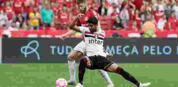 Fabiano tem chances remotas de ficar no Inter, só se o Palmeiras mudar de ideia - Jeferson Guareze/AGIF